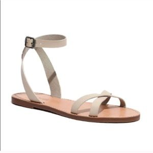 MADEWELL BOARDWALK ANKLE SANDALS